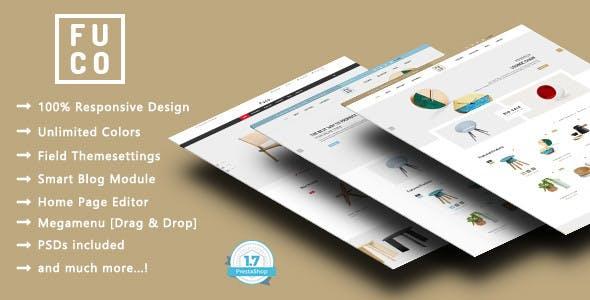 Fuco - Handmade Furniture PrestaShop 1.7 Theme