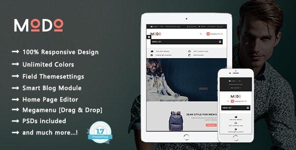 Modo - Clean Fashion & Clothes Responsive PrestaShop 1.7 Theme - Fashion PrestaShop