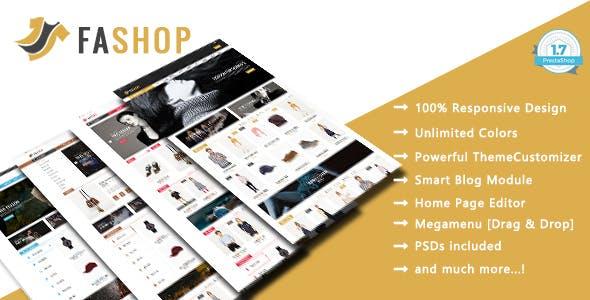 FAshop - Shopping Clothes & Shoes Responsive PrestaShop 1.7 Theme