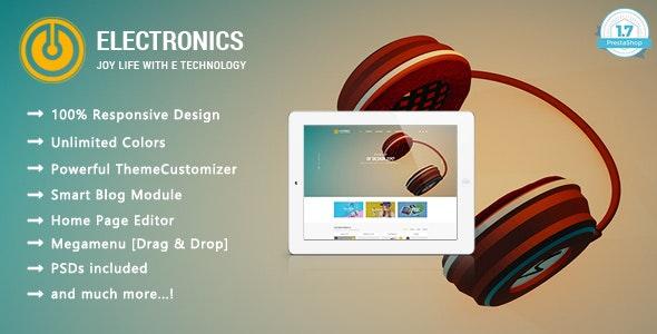 Electronic Shop - Digital Responsive PrestaShop 1.7 Theme - Technology PrestaShop