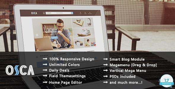Osca - Clean Shopping Responsive PrestaShop 1.7 Theme - Shopping PrestaShop