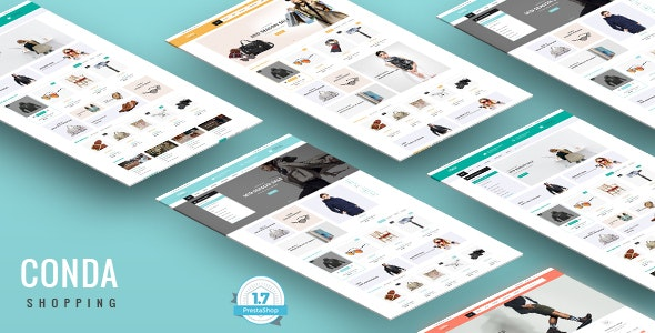 Conda - Simple & Clean Shopping Responsive PrestaShop 1.7 Theme - Shopping PrestaShop
