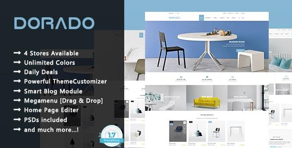 Dorado - Minimalist Furniture and Decor Responsive PrestaShop 1.7 Theme - Shopping PrestaShop