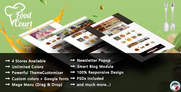 Organic Food - Bakery Responsive PrestaShop Theme - Health & Beauty PrestaShop