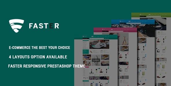 Faster - Minimalist Shopping Responsive PrestaShop Theme - Shopping PrestaShop