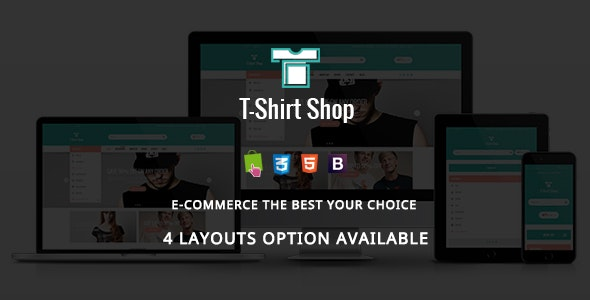T-shirt Shop - Fashion Stylish Responsive PrestaShop Theme - Fashion PrestaShop