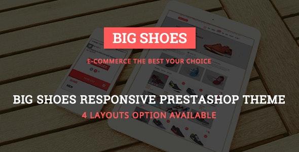 BigShoes - Sports Store Responsive PrestaShop Theme - Shopping PrestaShop