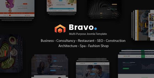 Bravo - Responsive Multi Purpose Joomla Template - Business Corporate