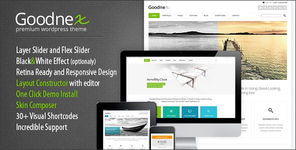 Goodnex | Creative Design Agency Responsive WordPress Theme - Corporate WordPress