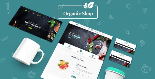 Organic Food - Fresh Fruits Responsive PrestaShop 1.7 Theme
