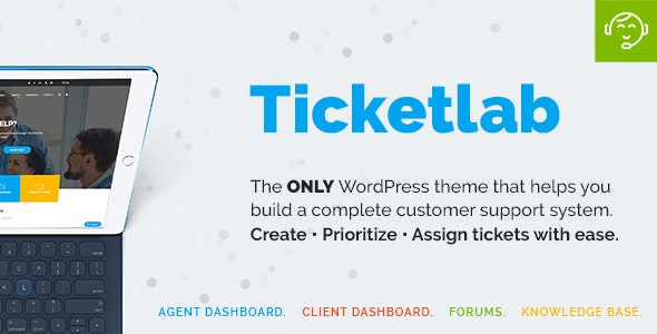 TicketLab – Knowledge Base | Ticketing | Support WordPress Theme