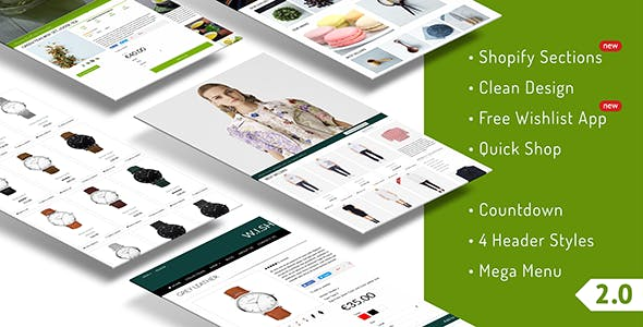Quickshop - Responsive Shopify Sections Theme