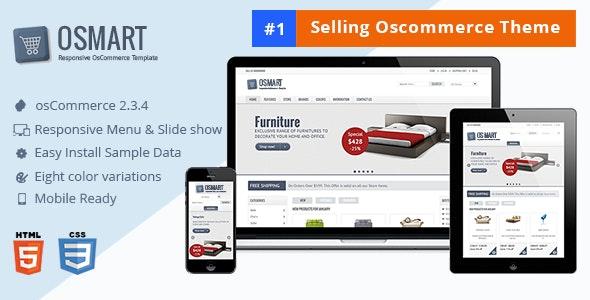 OSMART – Responsive osCommerce template - Shopping osCommerce