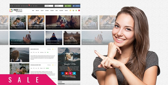 Posti - Responsive Blog HTML Template - Travel Retail