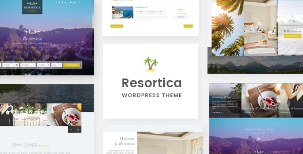 Resortica | Hotel WordPress Theme - Travel Retail