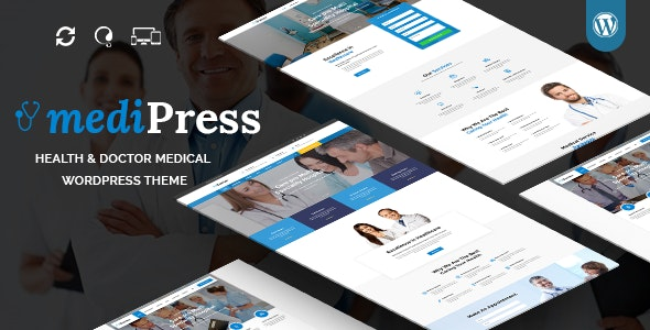 mediPress - Health and Doctor Medical WordPress Theme - Health & Beauty Retail