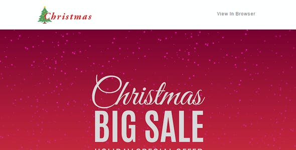 Christmas - 10 Responsive Newsletter and Notification Templates