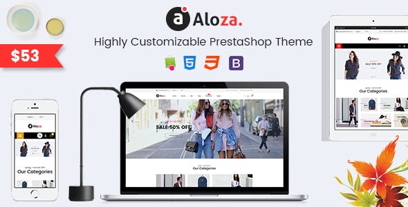 Aloza - Creative Responsive PrestaShop 1.7 Fashion Theme
