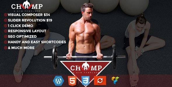 Champ WordPress Theme - Miscellaneous WordPress