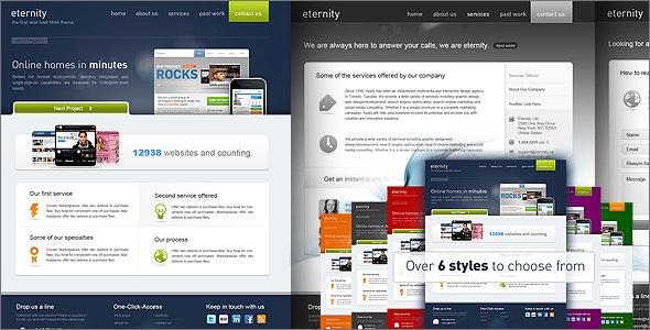 Eternity Premium Theme - Portfolio Creative