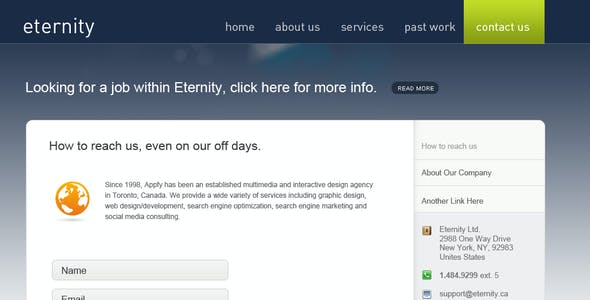 Eternity Premium Theme