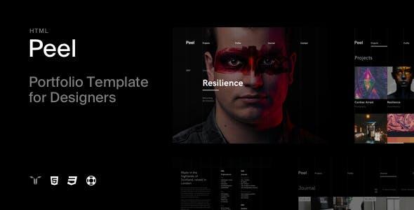 Peel - Portfolio Template For Creatives