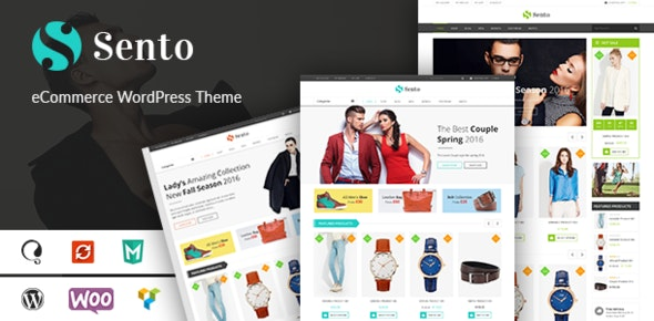 VG Sento - eCommerce WordPress Theme for Fashion Store - WooCommerce eCommerce