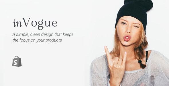 Shopify Fashion Theme - InVogue - Fashion Shopify