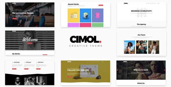 Cimol - Responsive One & Multi Page Portfolio Theme - Portfolio Creative