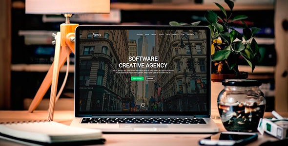 Agency - Creative Landing Page - Site Templates