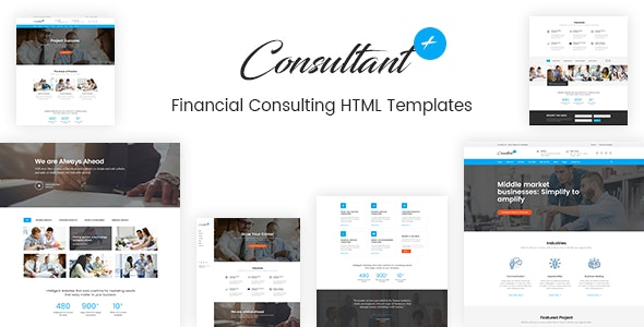 Consolution - Financial Consulting HTML Templates - Business Corporate