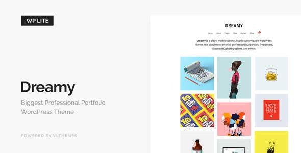 Dreamy Lite - Responsive Portfolio WordPress Theme - Portfolio Creative
