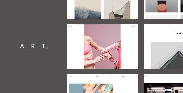 Art. Simple & Clean HTML5 Template for Creatives - Portfolio Creative