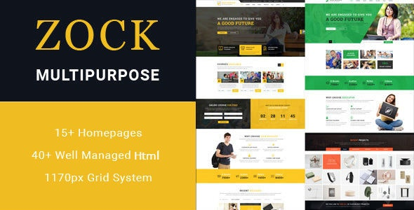 Education - Multipurpose HTML Template - Site Templates