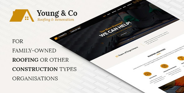 Young & Co - Family Roofing Service - Business Corporate