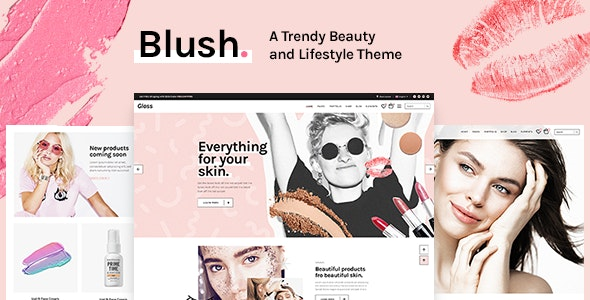 Blush - A Trendy Beauty and Lifestyle Theme by Select-Themes ...
