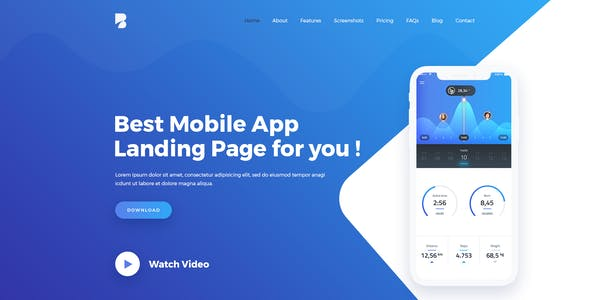 Bufet - App, Saas and Software Landing Page