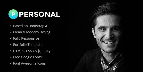 P-Personal- Personal Portfolio Multiple - Portfolio Creative
