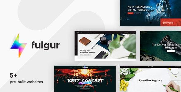 Fulgur - Responsive Multipurpose Muse Template - Creative Muse Templates