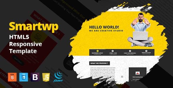 Smartwp - IT Firm digital studio Agency HTML5 Responsive Template - Creative Site Templates