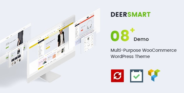 DeerSmart - Multipurpose Responsive WooCommerce WordPress Theme - WooCommerce eCommerce