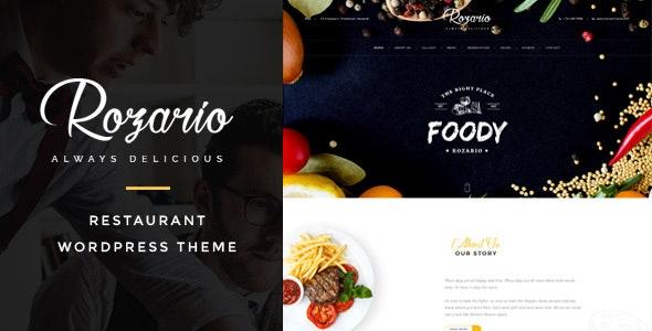 Rozario - Restaurant & Food WordPress Theme - Food Retail