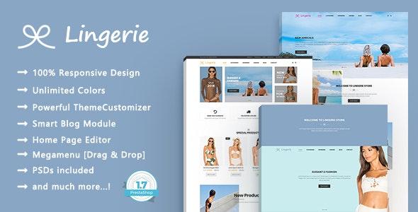 Lingerie Store - Beach Clothing Responsive PrestaShop 1.7 Theme - Shopping PrestaShop