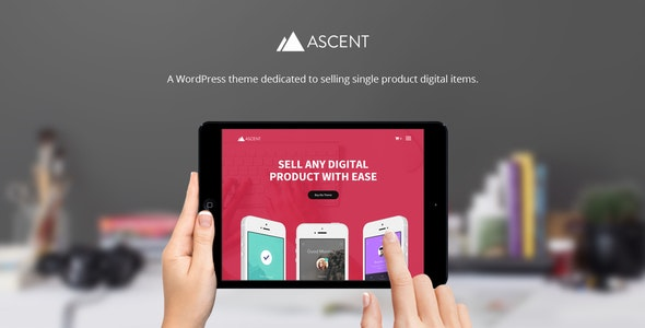 Ascent - WordPress / Easy Digital Downloads Theme - Miscellaneous eCommerce