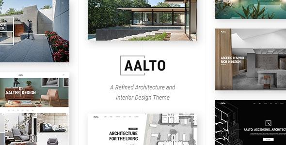 Aalto - Architecture and Interior Design Theme - Portfolio Creative