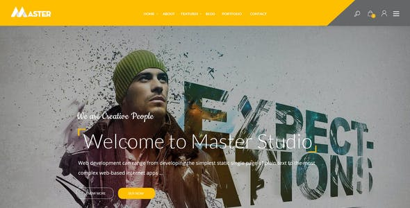 Master - Ultimate Multipurpose PSD Template