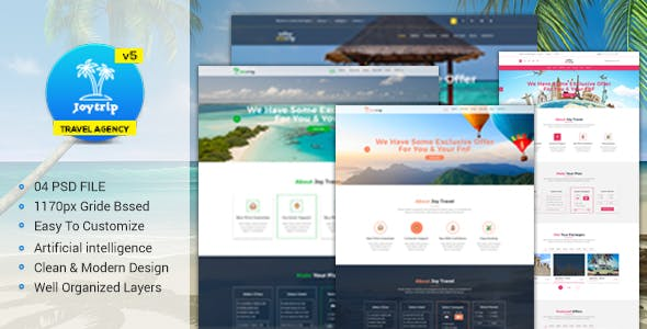 Travel Agency Website >> Travel Agency Website Website Templates From Themeforest