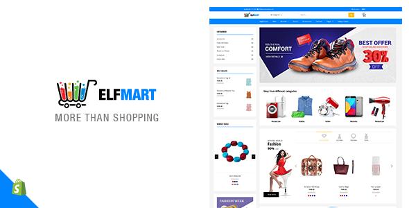 Elfmart - Multipurpose Shopify Theme - Shopify eCommerce