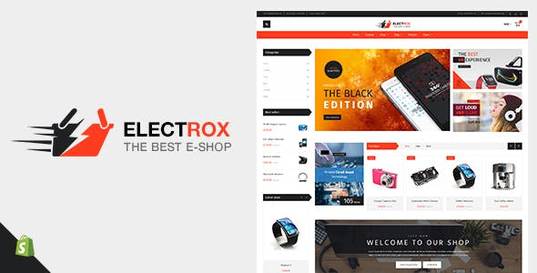 Electrox - Shopify Electronics and Responsive Digital Theme