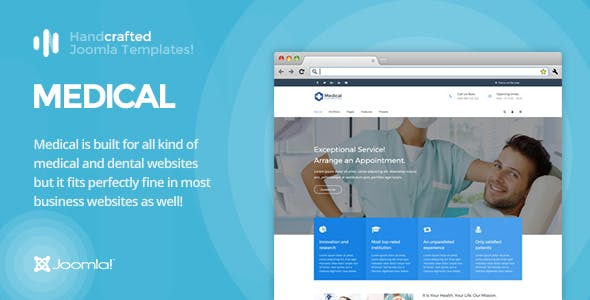 IT Medical - Gantry 5, Dental Joomla Template